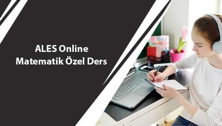 ALES Online Matematik Özel Ders
