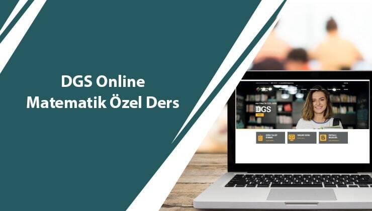 DGS Online Matematik Özel Ders