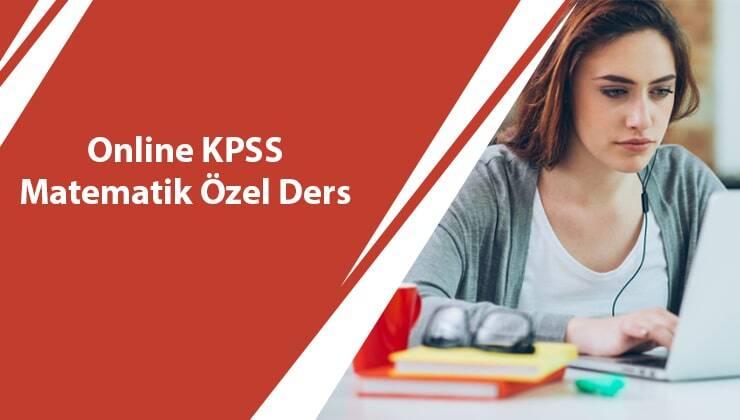 Online KPSS Matematik Özel Ders